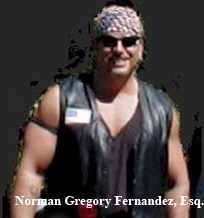 California Biker Lawyer and Motorcycle Attorney Norman Gregory Fernandez at Cooks Corner