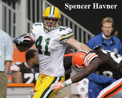 Green Bay Packers Spencer Havner