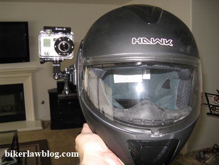 Norm's GoPro Hero Helmet Camera