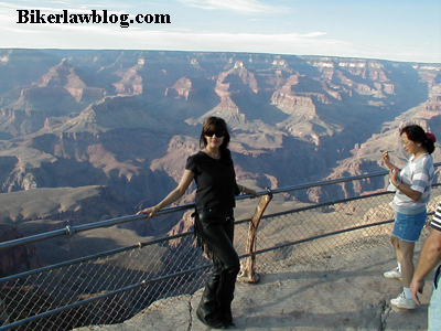 Norm's Fiance at the Grand Canyon