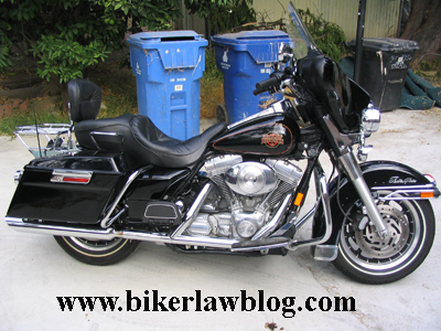 Biker Motorcycle Injury Lawyer Norman Gregory Fernandez Customizes His Harley Davidson FLHT Electra Glide