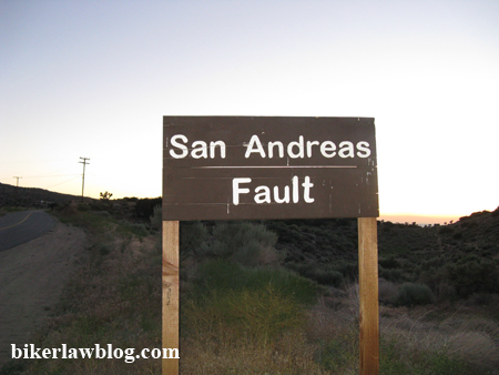 San Andreas Fault California