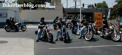 Norman Gregory Fernandez and Friends About to do some Pack Motorcycle Riding