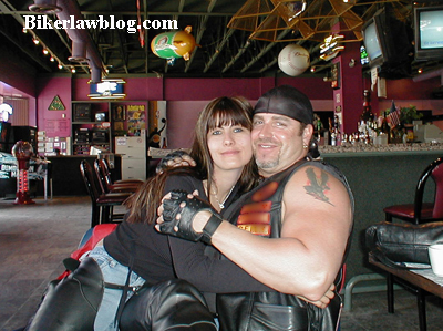Biker Motorcycle Lawyer Attorney Norman Gregory Fernandez with Fiance