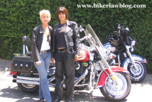 California Motorcycle Accident Lawyer Norman Gregory Fernandez's friends Liz and Tammy