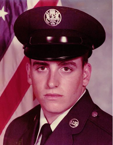 Norman Gregory Fernandez, United States Air Force, March 1981