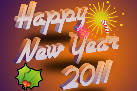 I want to wish all of you a happy new year, 2011. May you, your family,