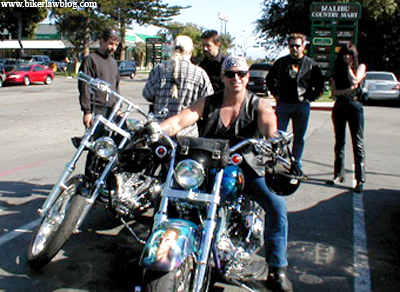 California Motorcycle Accident Attorney and Biker Lawyer Norman Gregory Fernandez in Malibu, CA