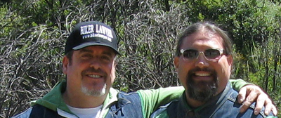 Biker Lawyer Norman Gregory Fernandez, and his Brother Slider on a Motorcycle Run to the Angeles Crest Highway on June 19, 2011