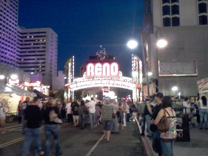 A view from the Reno Street Vibrations 2011