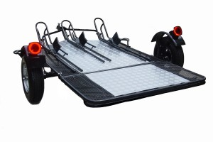 Trinity 3 Folding Motorcycle Trailer
