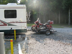 My Trinity 3 trailer with Electra Glide