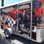 Norm's Custom Motorcycle Trailer
