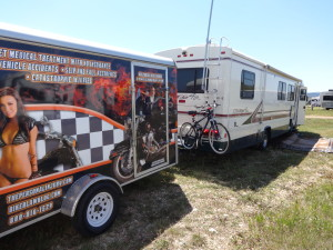 My Campsite for the Sturgis 2013 Motorcycle Rally