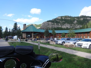 The view from my motorcycle, Black Hills, SD, Sturgis 2013
