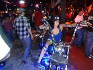Beautiful Sandra at Sturgis 2013