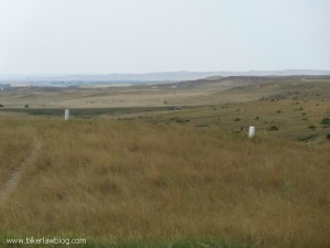 More grave markers at The Little Bighorn