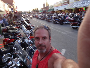 California Biker Attorney and Motorcycle Accident Lawyer at the Sturgis Motorcycle Rally