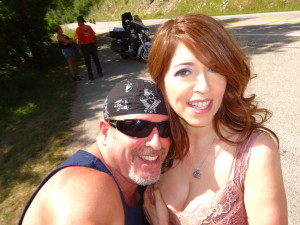 California biker lawyer Norman Gregory Fernandez and friend that the 2015 Sturgis motorcycle rally
