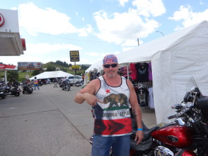 Motorcycle lawyer Norman Gregory Fernandez of the 75th annual Sturgis motorcycle rally