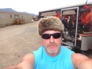 Biker Lawyer Norman Gregory Fernandez at Sturgis 2015