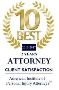 Norman Gregory Fernandez named Top 10 Personal Injury Lawyer 2016 2017