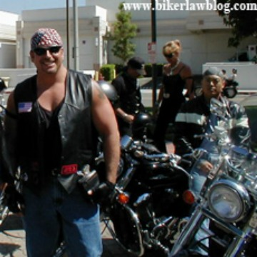 Anaheim California Motorcycle Accident Lawyer Norman Gregory Fernandez on a motorcycle run
