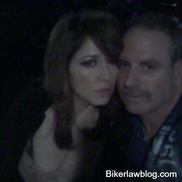 Bell Gardens Motorcycle Accident Lawyer Norman Gregory Fernandez with special friend Helena