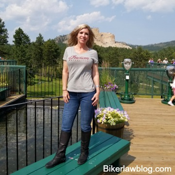 Biker Attorney's wife Little Teri at Crazy Horse, Sturgis Motorcycle Rally 2018 -2