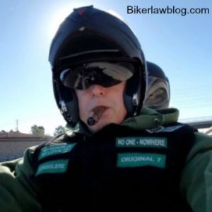 Calmesa Motorcycle Accident Lawyer Norman Gregory Fernandez on ride