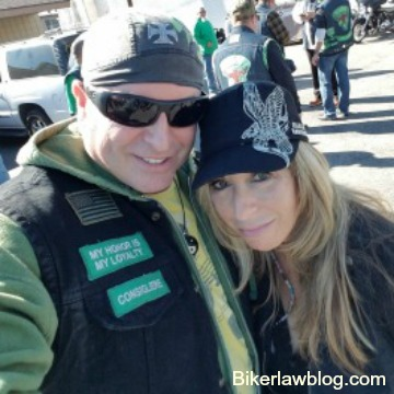 Cambell Motorcycle Accident Lawyer Norman Gregory Fernandez with special friend Kim