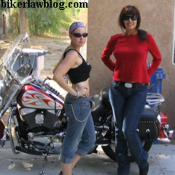 Canoga Park Motorcycle Accident Lawyer with Elizabeth and Friend