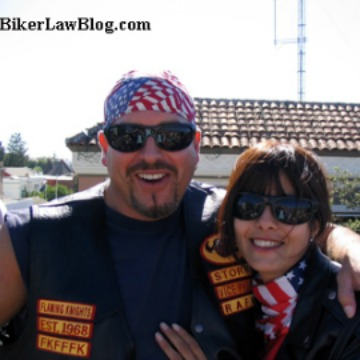 Imperial Beach Motorcycle Accident Lawyer Norman Gregory Fernandez with ex wife Liz