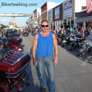 Hillsborough motorcycle accident lawyer norman gregory fernandez at sturgis 2014