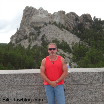 Huntington Park motorcycle accident lawyer norman gregory fernandez at mount rushmore sd 2014