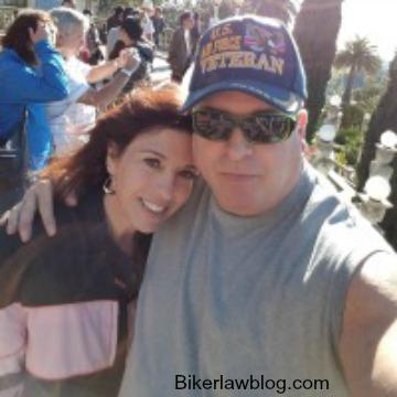 Injuredbilkers.com founder Norman Gregory Fernandez with his wife