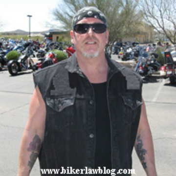 North Hills Motorcycle Accident Attorney Norman Gregory Fernandez at Laughlin River Run 2010