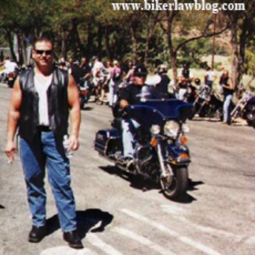 Santa Clarita Motorcycle Accident Lawyer Norman Gregory Fernandez at Downed Officers Run