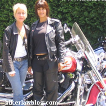 West Hills Motorcycle Accident Lawyer Norman Gregory Fernandez's friends Elizabeth and Sally