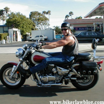 Woodland Hills Motorcycle Accident Lawyer Norman Gregory Fernandez riding on PCH
