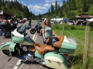 Little Teri in the Black Hills, Sturgis 2018