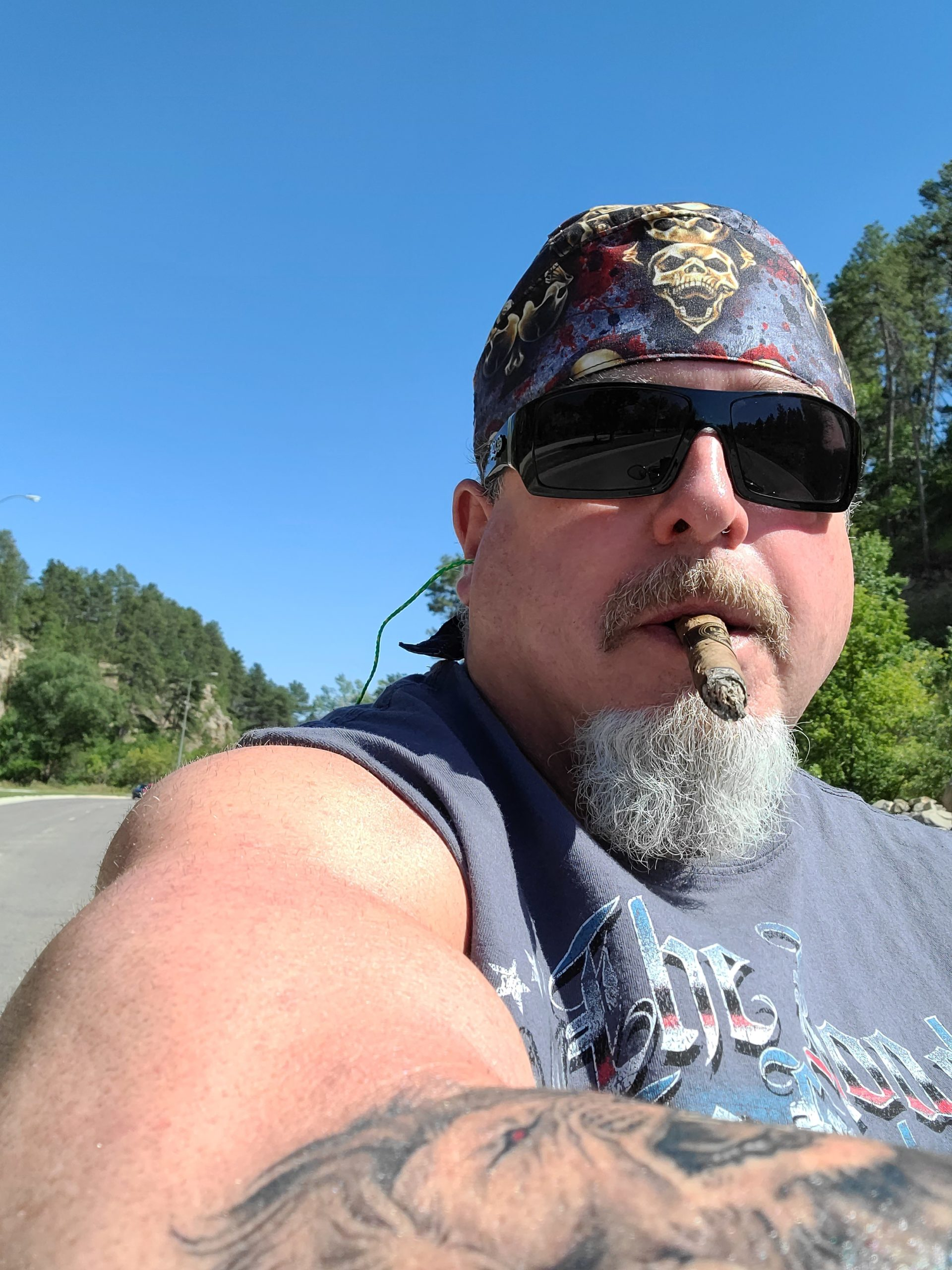 Sturgis motorcycle rally, 2021; a vacation without my wife :-)
