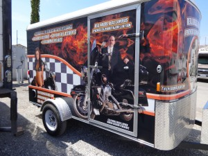 Norm's Custom Motorcycle Trailer 7