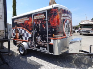 Norm's Custom Motorcycle Trailer 6