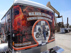 Norm's Custom Motorcycle Trailer 5