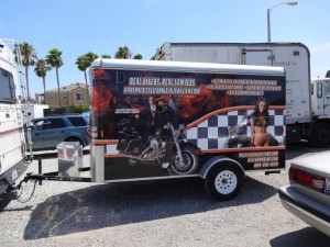 Norm's Custom Motorcycle Trailer 2