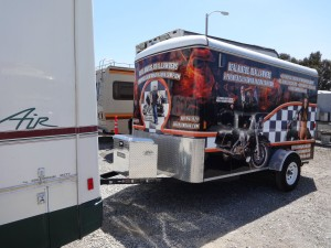 Norm's Custom Motorcycle Trailer 1